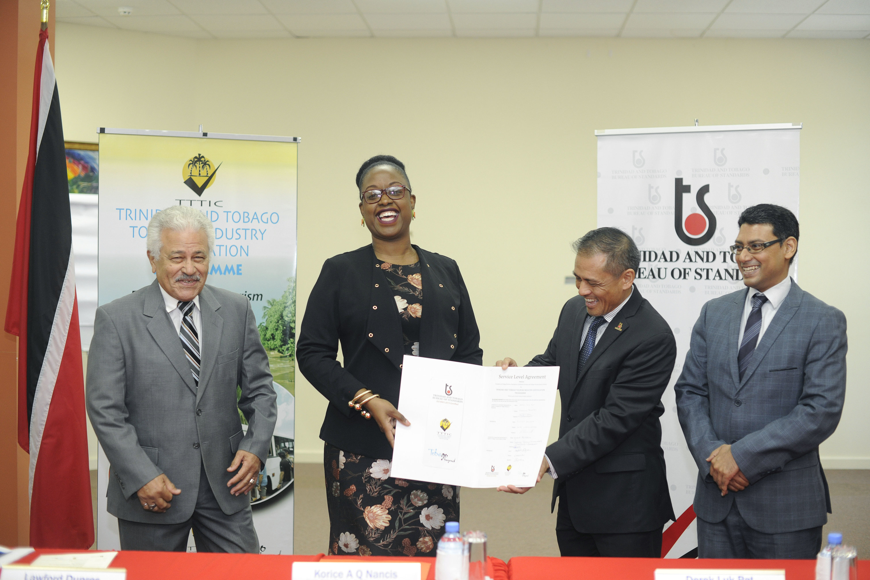 Teaming up to improve Tobago's tourism standards