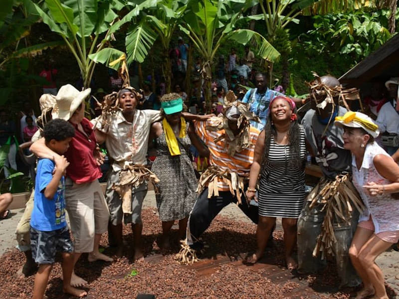101 reasons Tobago - Dance Cocoa Charlotteville