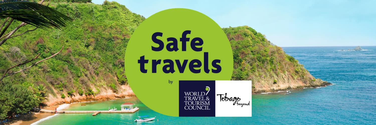 Visit Tobago Safe Travel Stamp