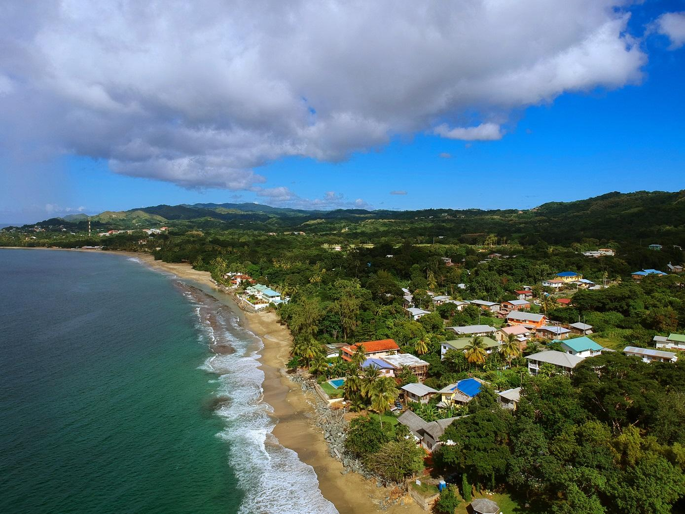 Properties on Tobago's coast