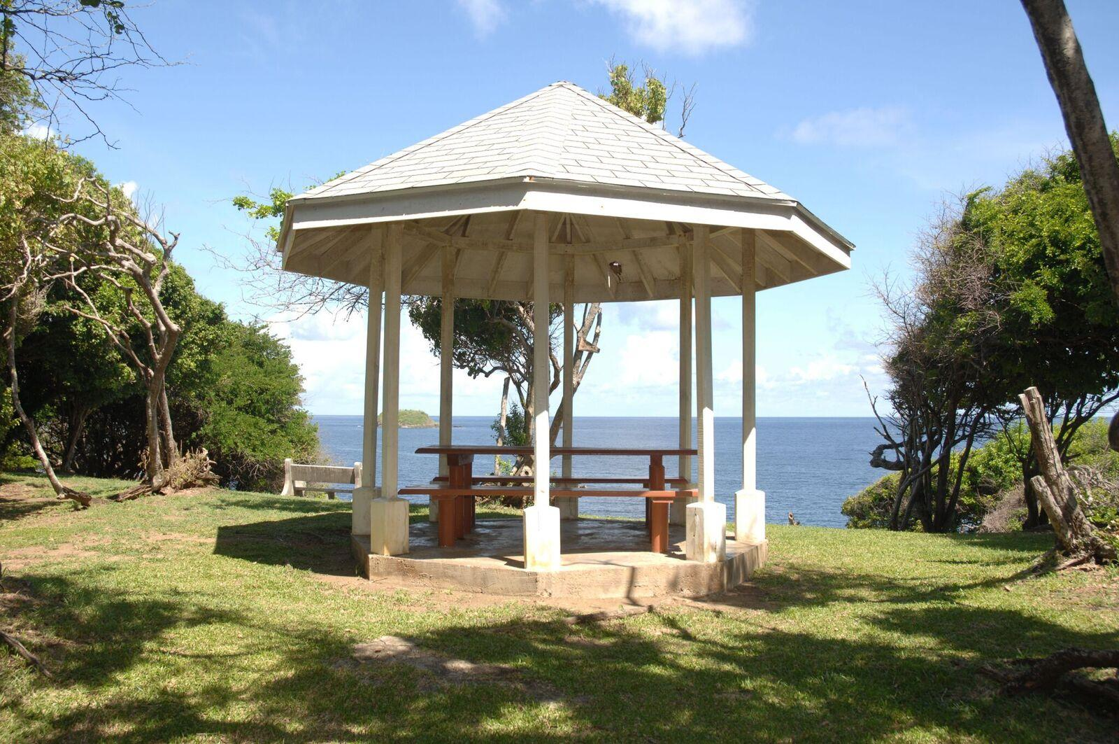 Gazebo at Fort Granby